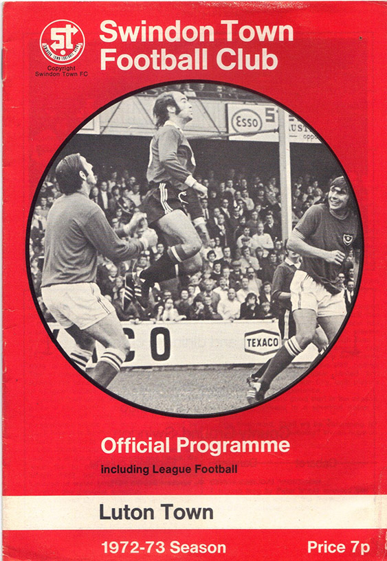 <b>Tuesday, September 26, 1972</b><br />vs. Luton Town (Home)