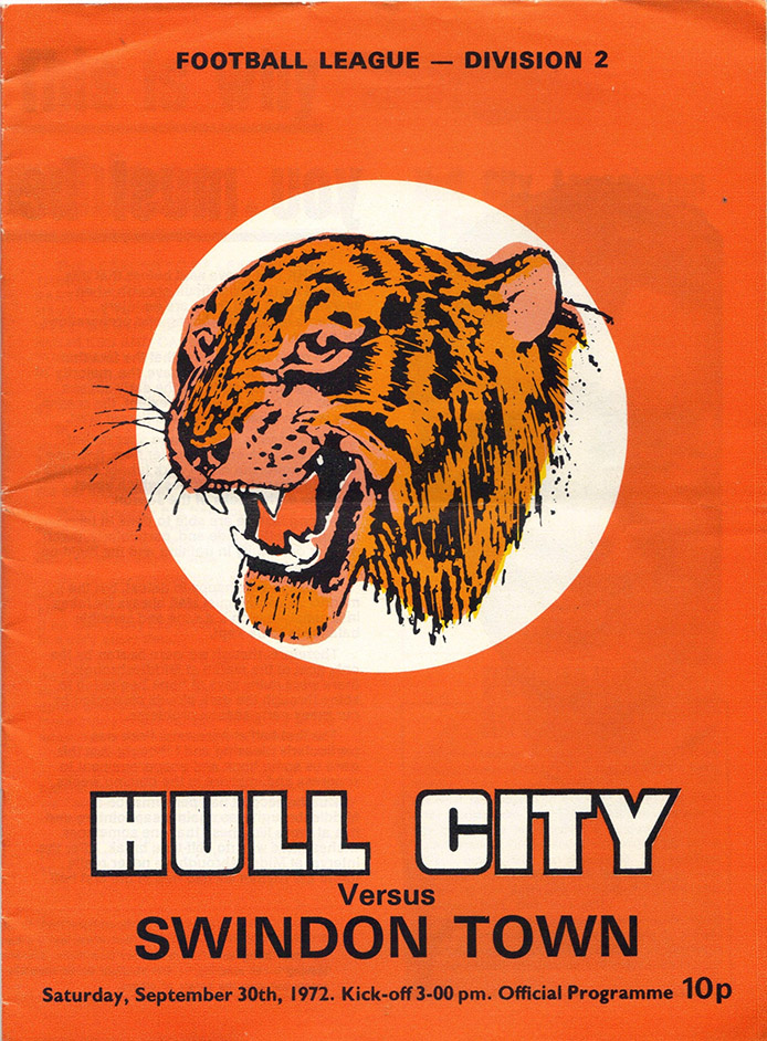 <b>Saturday, September 30, 1972</b><br />vs. Hull City (Away)