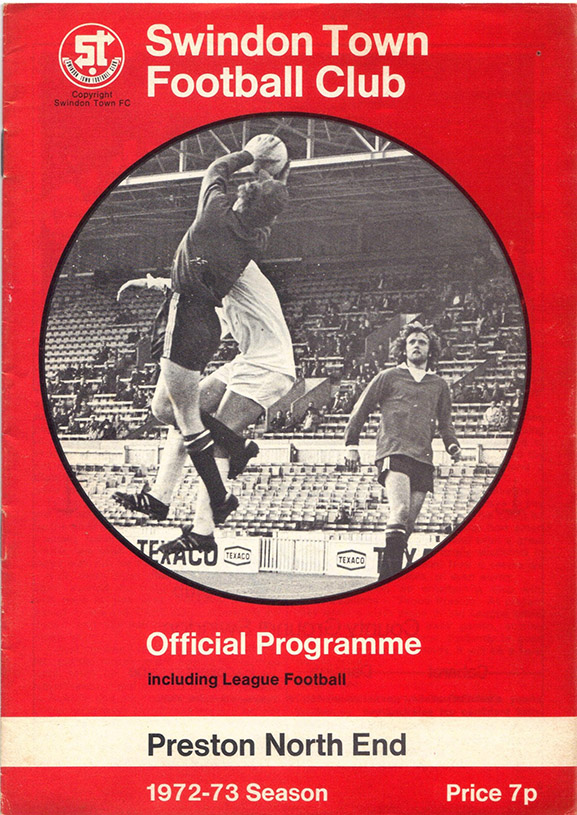 <b>Saturday, October 14, 1972</b><br />vs. Preston North End (Home)