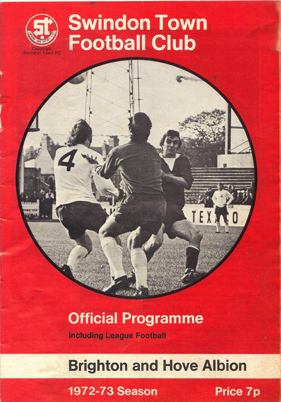 <b>Saturday, October 28, 1972</b><br />vs. Brighton and Hove Albion (Home)