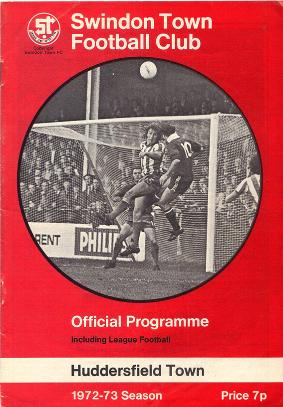 <b>Saturday, November 11, 1972</b><br />vs. Huddersfield Town (Home)