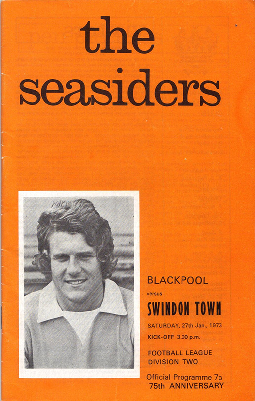<b>Saturday, January 27, 1973</b><br />vs. Blackpool (Away)