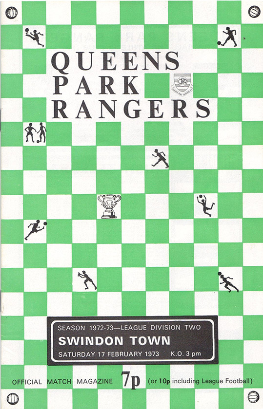 <b>Saturday, February 17, 1973</b><br />vs. Queens Park Rangers (Away)