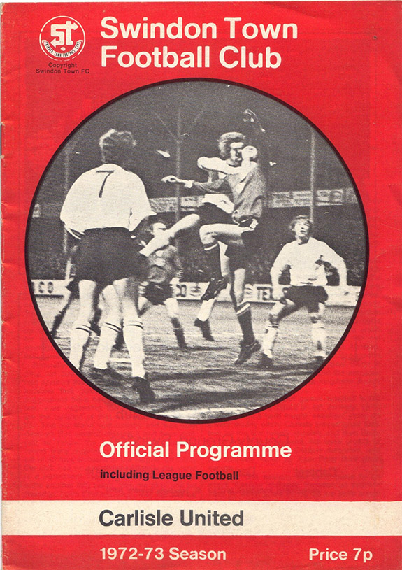 <b>Monday, March 12, 1973</b><br />vs. Carlisle United (Home)