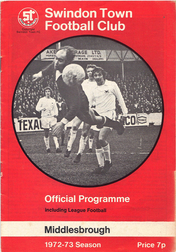 <b>Saturday, March 31, 1973</b><br />vs. Middlesbrough (Home)