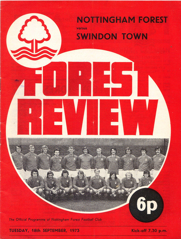 <b>Tuesday, September 18, 1973</b><br />vs. Nottingham Forest (Away)