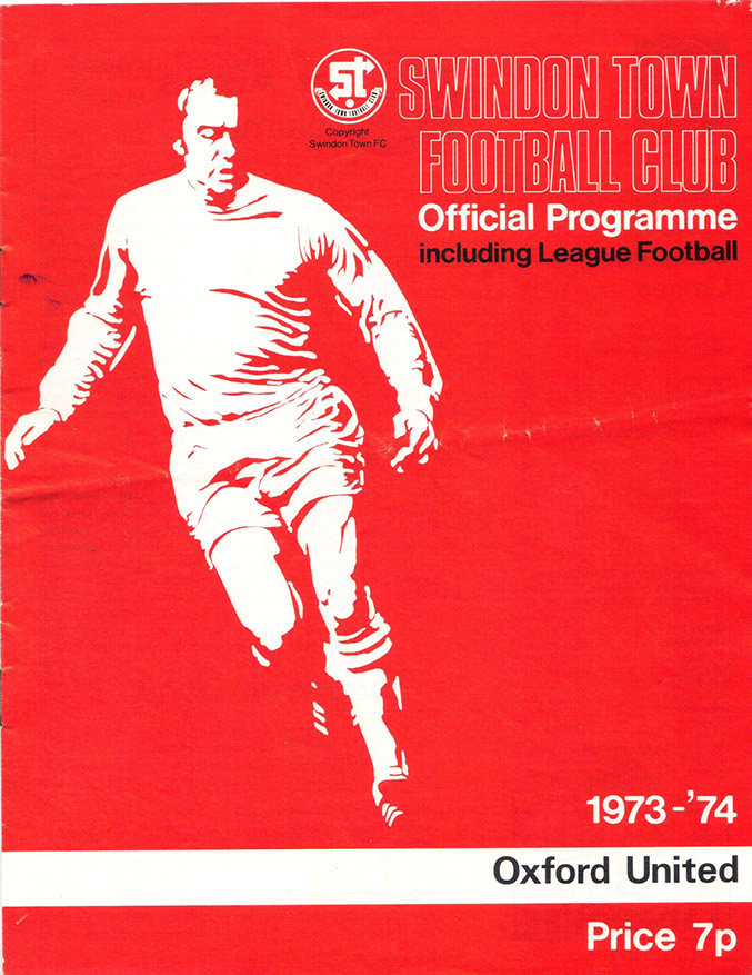 <b>Saturday, October 20, 1973</b><br />vs. Oxford United (Home)
