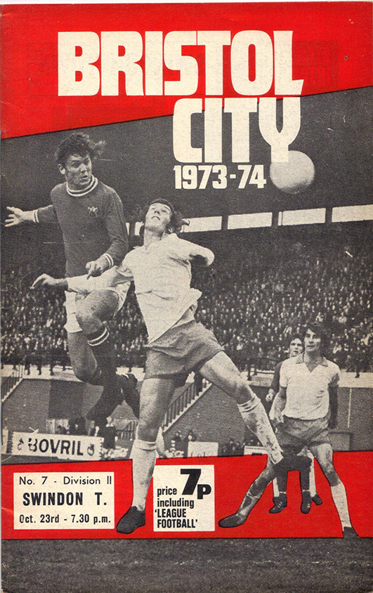 <b>Tuesday, October 23, 1973</b><br />vs. Bristol City (Away)