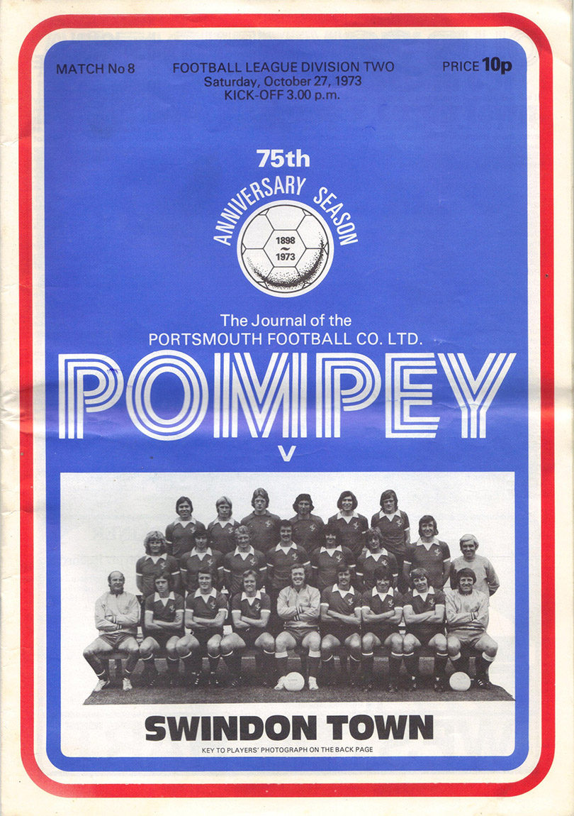 <b>Saturday, October 27, 1973</b><br />vs. Portsmouth (Away)