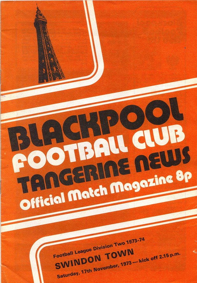 <b>Saturday, November 17, 1973</b><br />vs. Blackpool (Away)