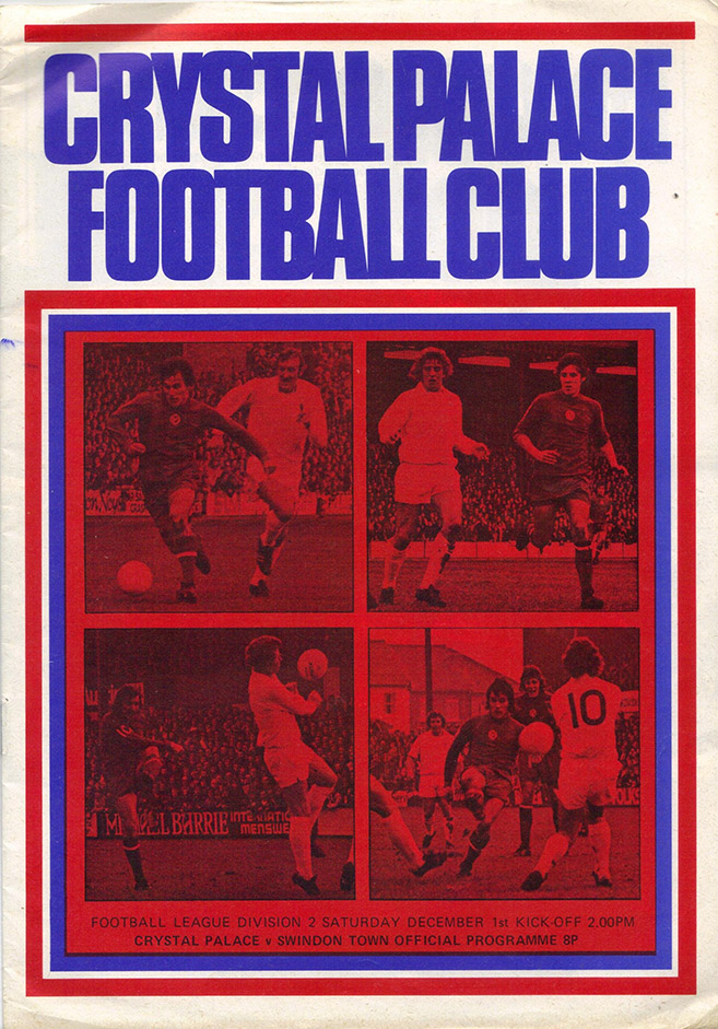 <b>Saturday, December 1, 1973</b><br />vs. Crystal Palace (Away)
