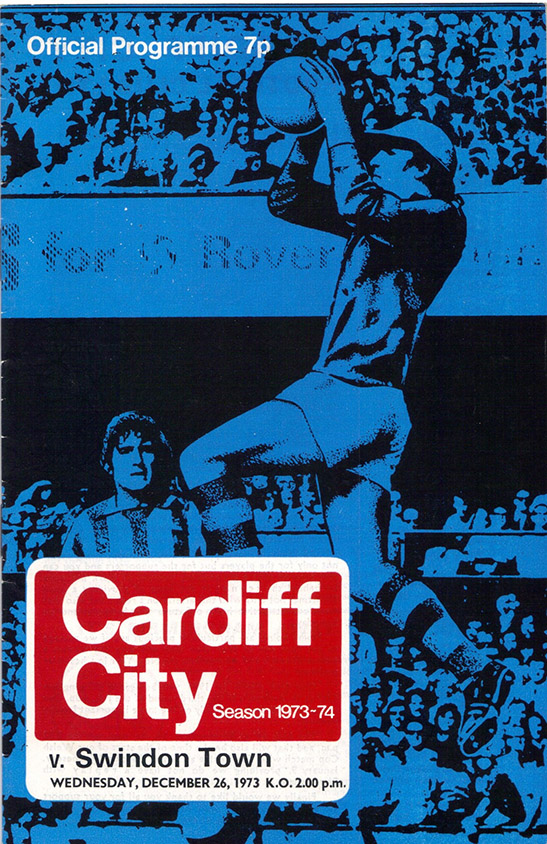 <b>Wednesday, December 26, 1973</b><br />vs. Cardiff City (Away)