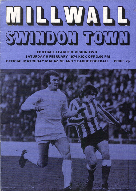 <b>Saturday, February 16, 1974</b><br />vs. Millwall (Away)