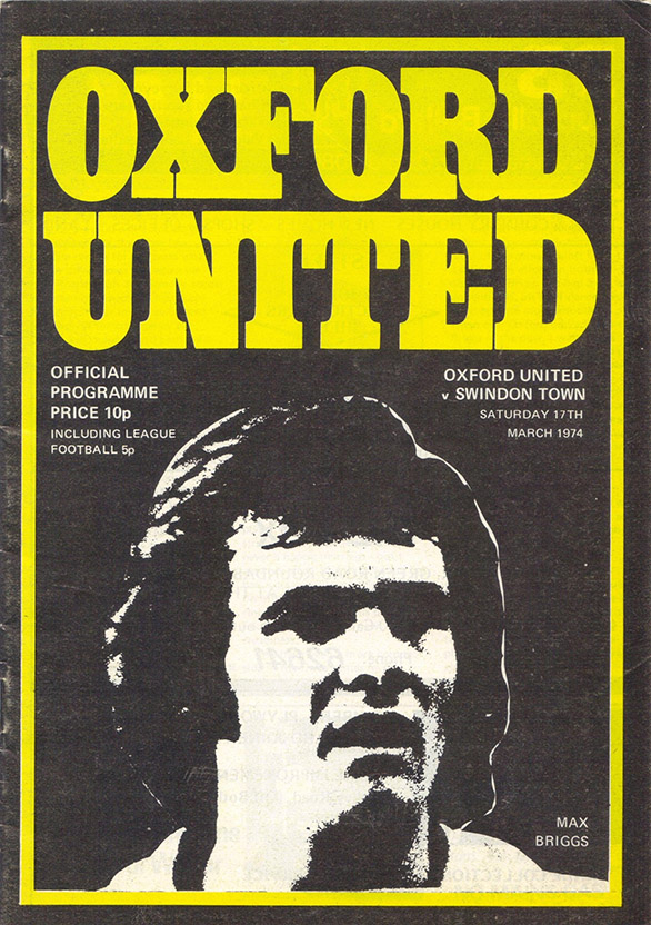 <b>Sunday, March 17, 1974</b><br />vs. Oxford United (Away)
