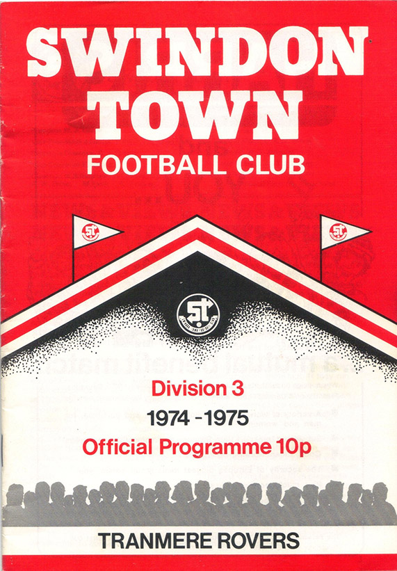 <b>Tuesday, September 3, 1974</b><br />vs. Tranmere Rovers (Home)