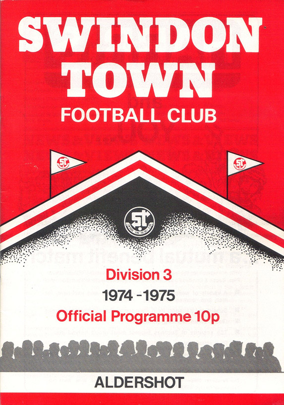 <b>Tuesday, September 17, 1974</b><br />vs. Aldershot (Home)