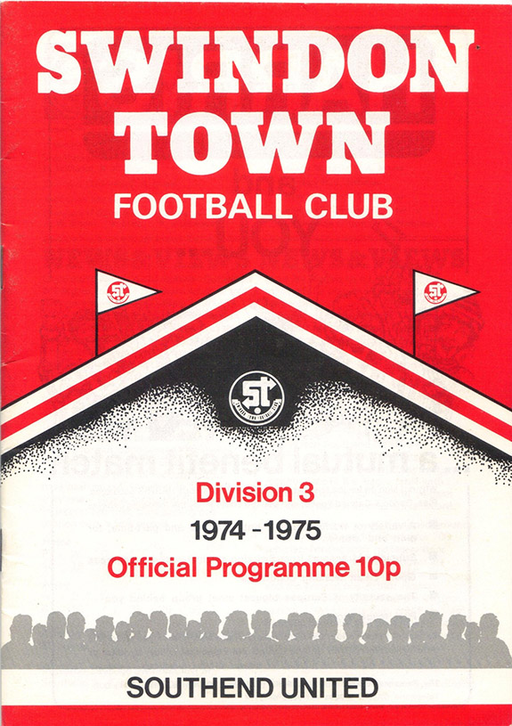 Saturday, October 5, 1974 - vs. Southend United (Home)