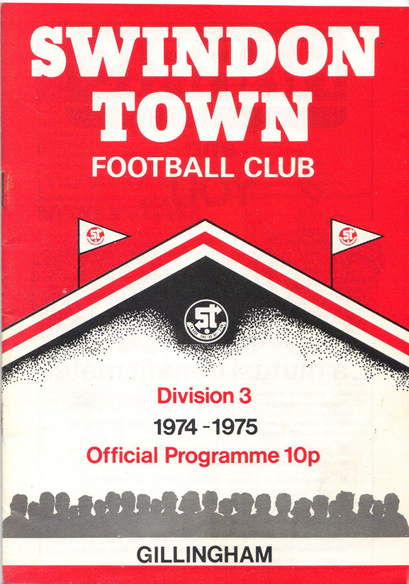 <b>Saturday, November 16, 1974</b><br />vs. Gillingham (Home)