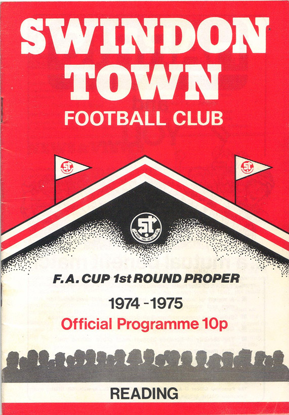 Saturday, November 23, 1974 - vs. Reading (Home)