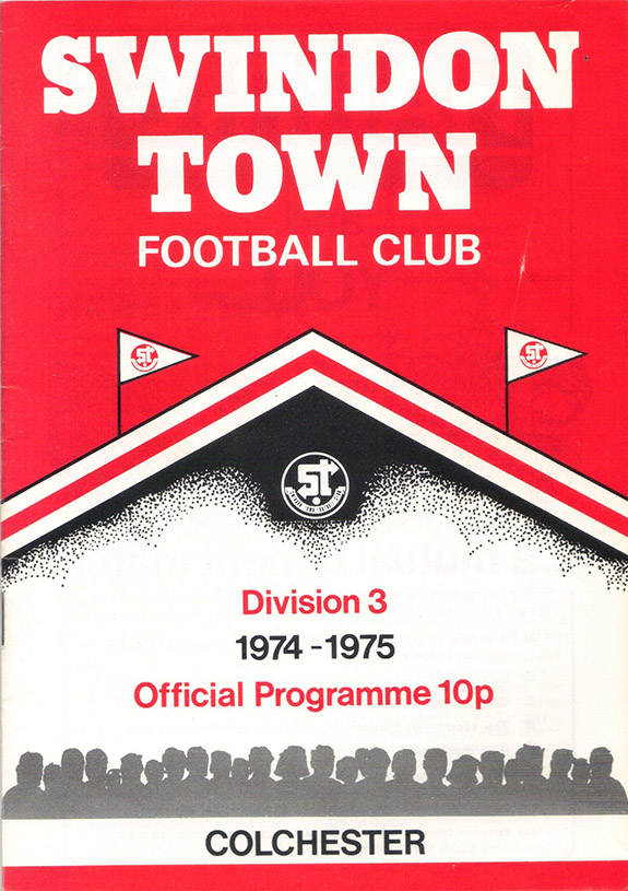 <b>Saturday, November 30, 1974</b><br />vs. Colchester United (Home)