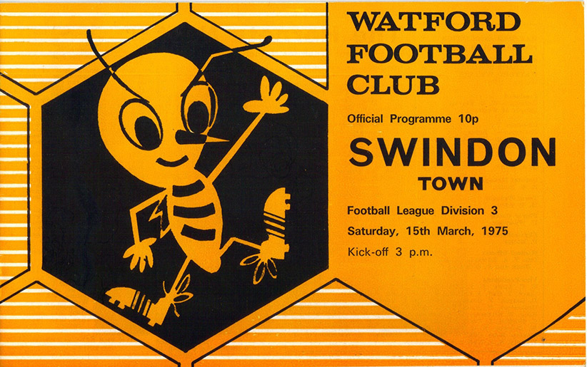 Saturday, March 15, 1975 - vs. Watford (Away)