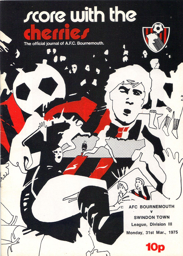 Monday, March 31, 1975 - vs. AFC Bournemouth (Away)