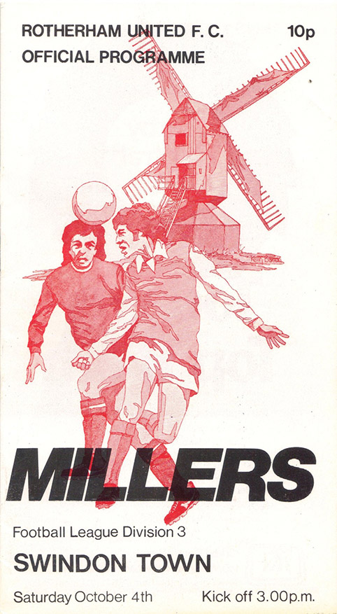 Saturday, October 4, 1975 - vs. Rotherham United (Away)