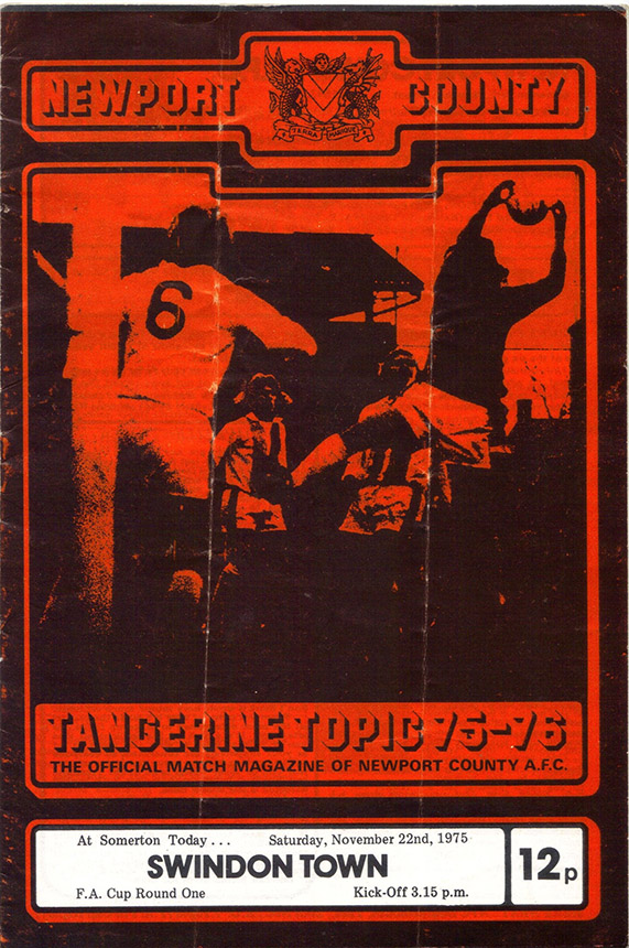 Saturday, November 22, 1975 - vs. Newport County (Away)