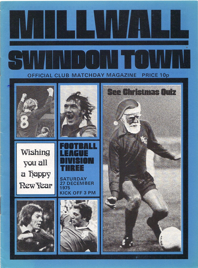 Saturday, December 27, 1975 - vs. Millwall (Away)