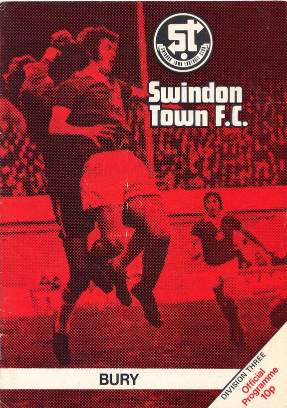 <b>Saturday, January 31, 1976</b><br />vs. Bury (Home)