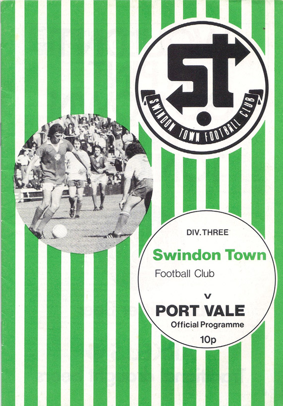 Saturday, August 21, 1976 - vs. Port Vale (Home)