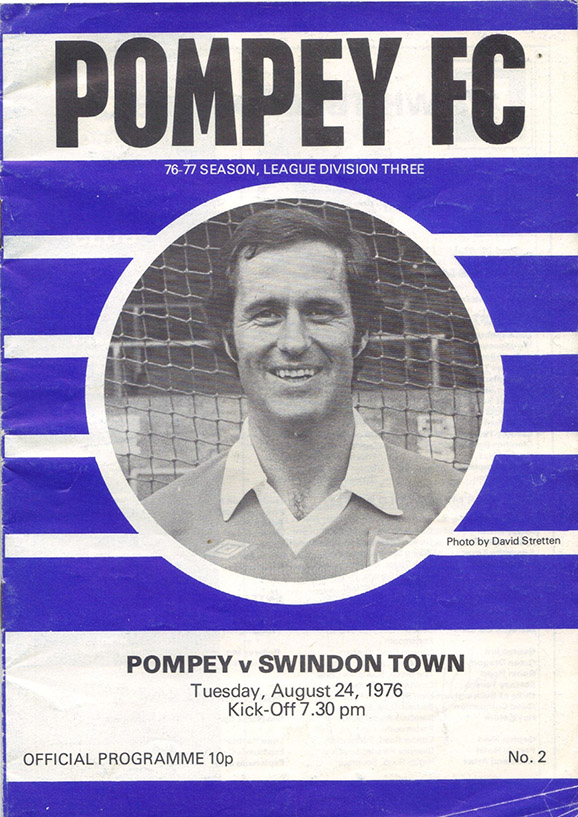 Tuesday, August 24, 1976 - vs. Portsmouth (Away)