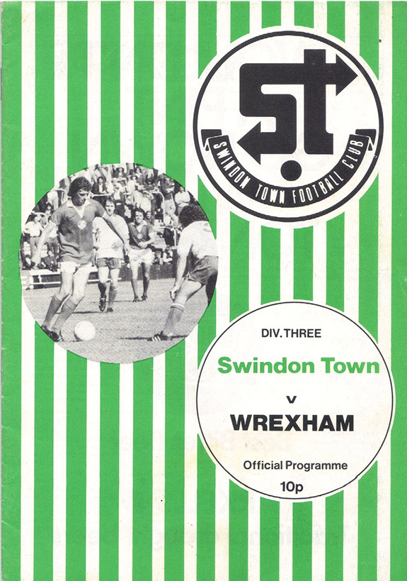 Saturday, August 28, 1976 - vs. Wrexham (Home)