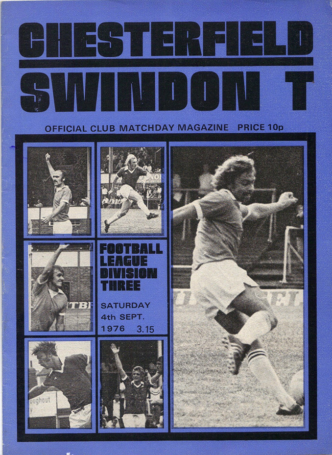 <b>Saturday, September 4, 1976</b><br />vs. Chesterfield (Away)