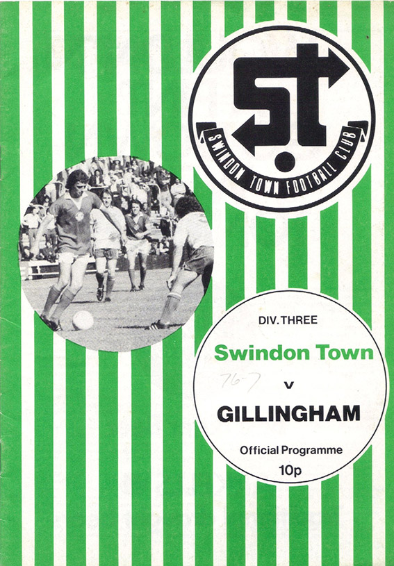 <b>Saturday, September 25, 1976</b><br />vs. Gillingham (Home)