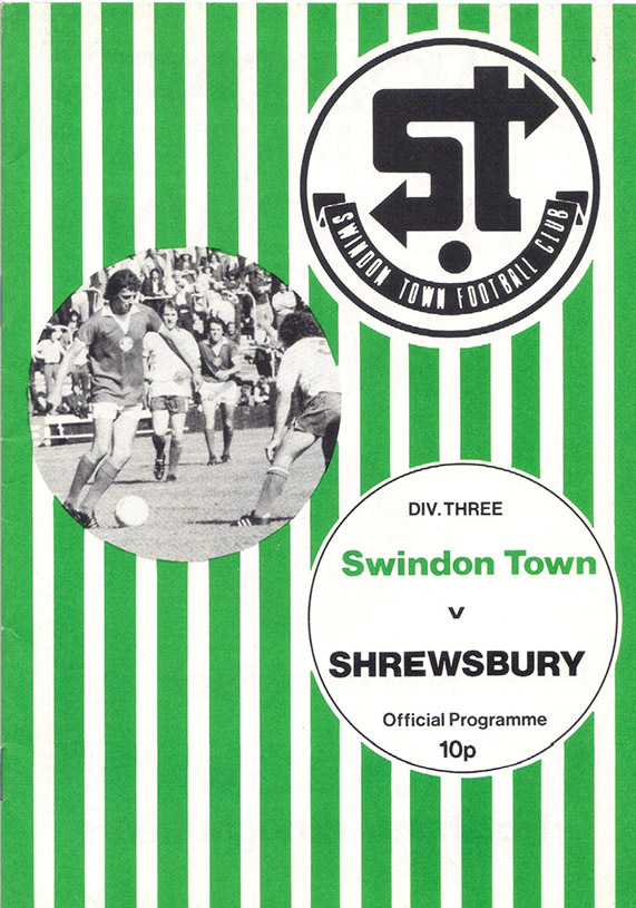 <b>Saturday, October 9, 1976</b><br />vs. Shrewsbury Town (Home)