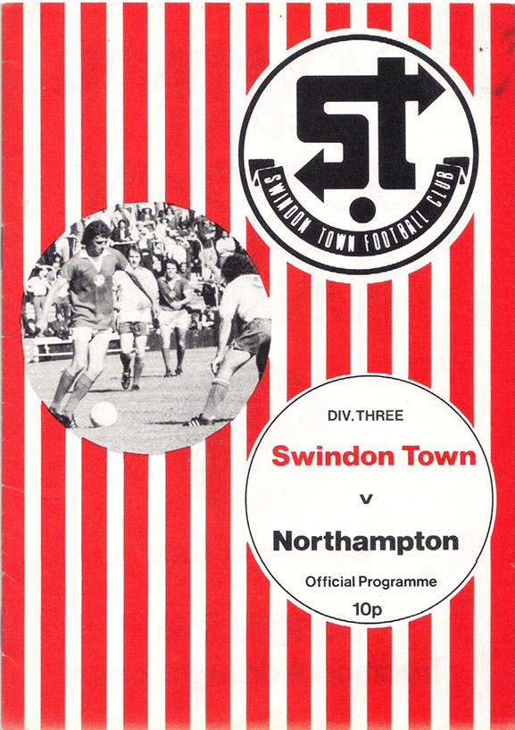 <b>Saturday, October 23, 1976</b><br />vs. Northampton Town (Home)