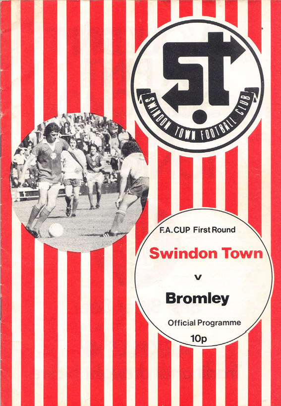Saturday, November 20, 1976 - vs. Bromley (Home)