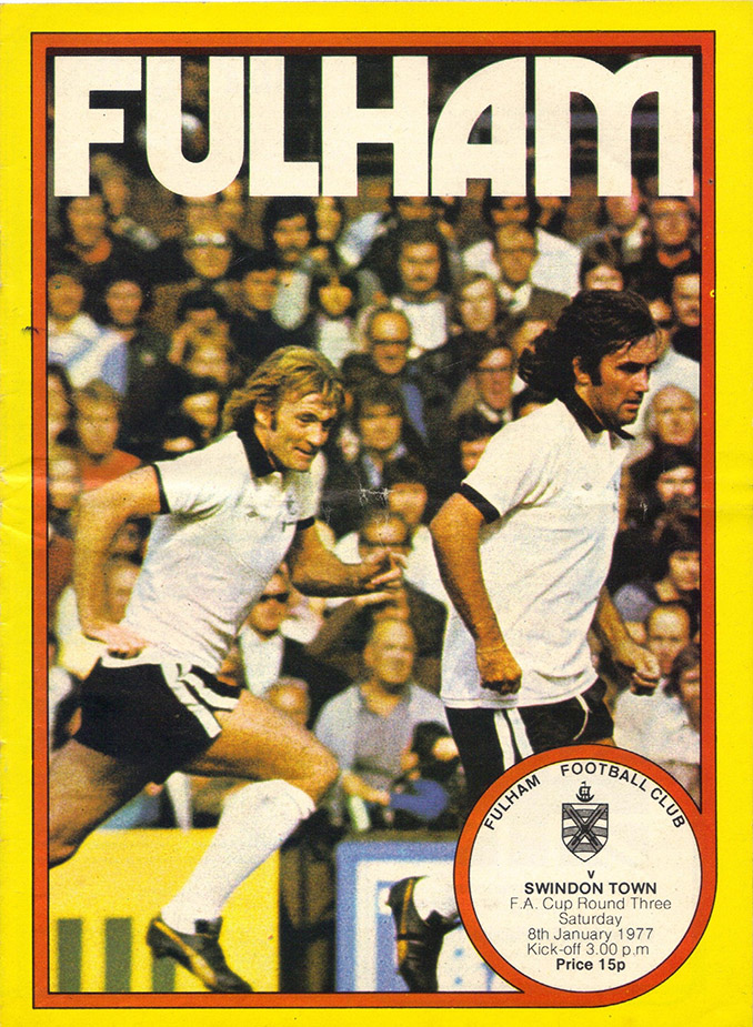 <b>Saturday, January 8, 1977</b><br />vs. Fulham (Away)