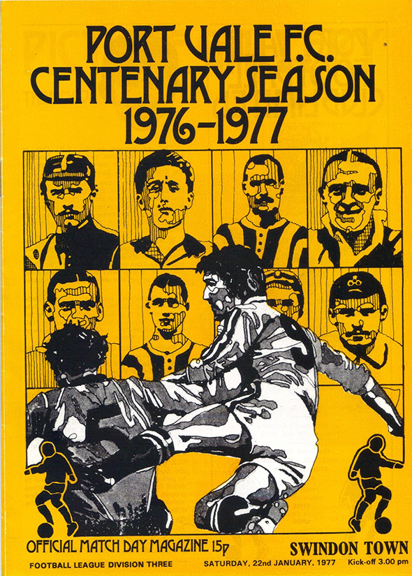Saturday, January 22, 1977 - vs. Port Vale (Away)