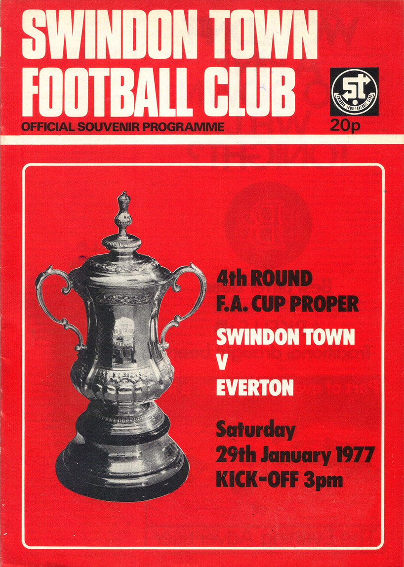 <b>Saturday, January 29, 1977</b><br />vs. Everton (Home)