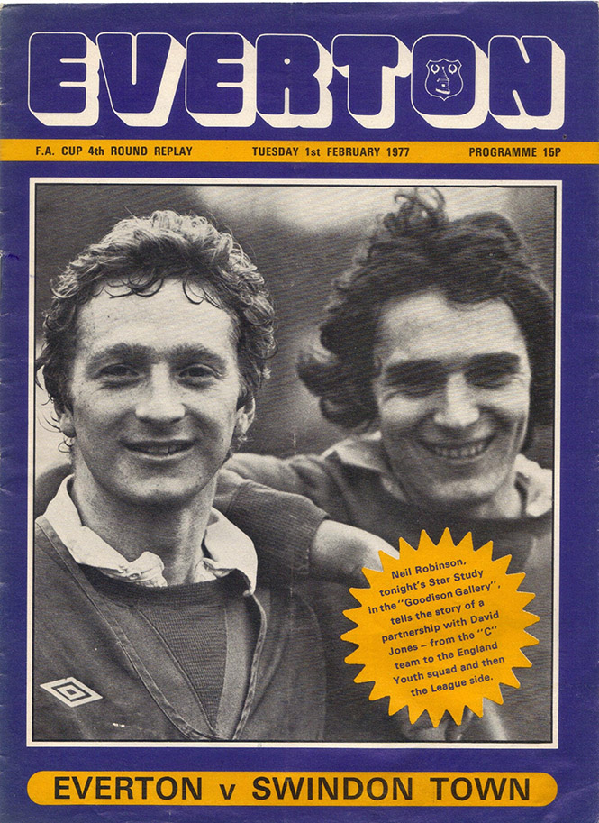 <b>Tuesday, February 1, 1977</b><br />vs. Everton (Away)