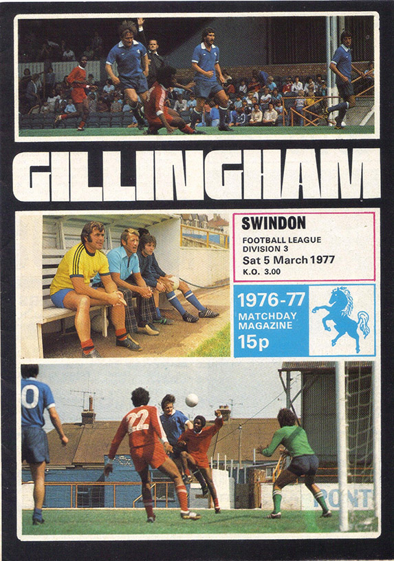 <b>Saturday, March 5, 1977</b><br />vs. Gillingham (Away)