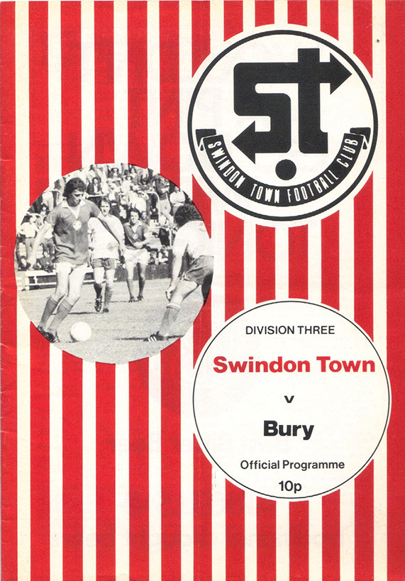 <b>Saturday, April 16, 1977</b><br />vs. Bury (Home)