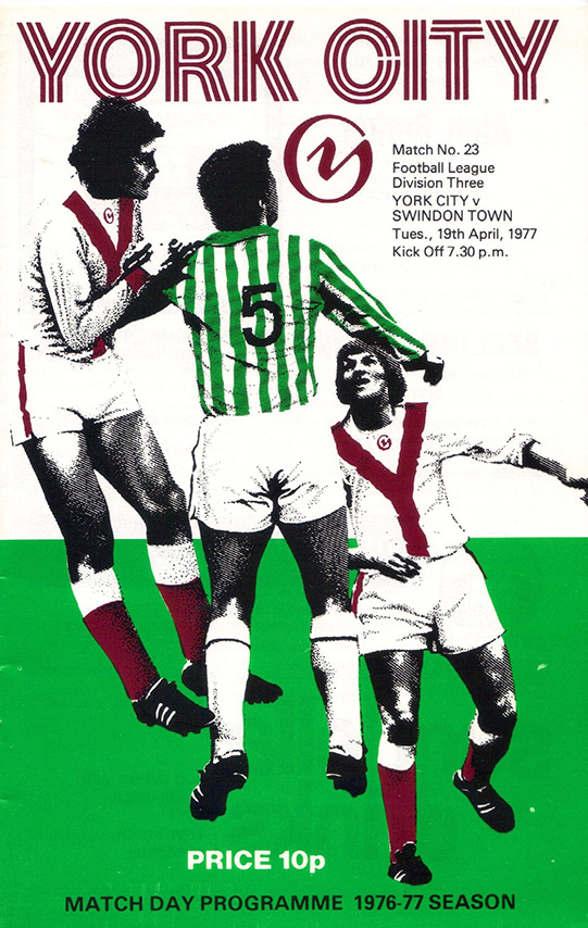 Tuesday, April 19, 1977 - vs. York City (Away)