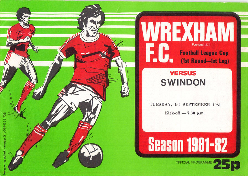 <b>Tuesday, September 1, 1981</b><br />vs. Wrexham (Away)