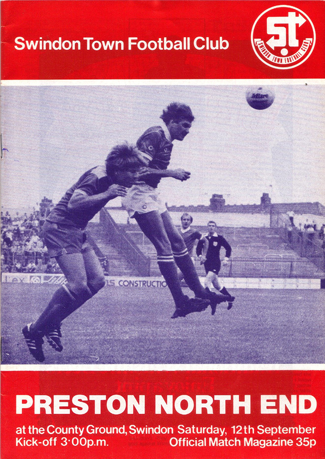 <b>Saturday, September 12, 1981</b><br />vs. Preston North End (Home)