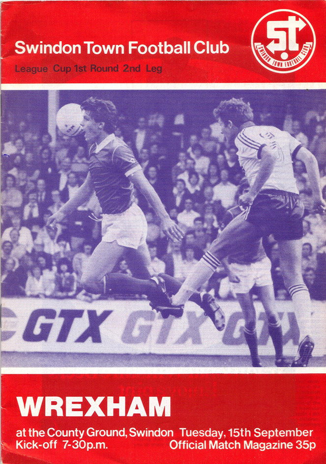 <b>Tuesday, September 15, 1981</b><br />vs. Wrexham (Home)