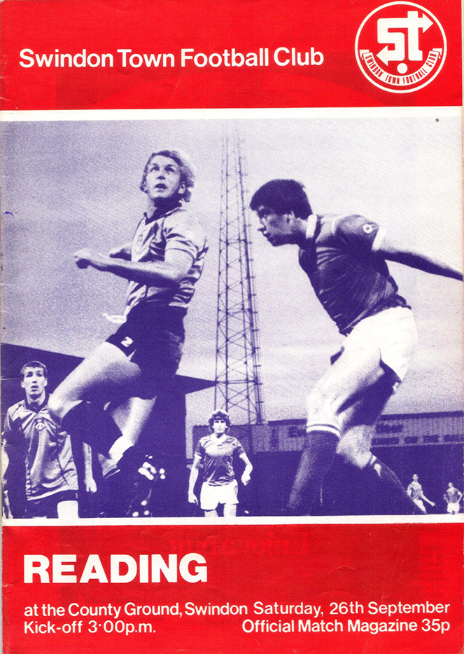 <b>Saturday, September 26, 1981</b><br />vs. Reading (Home)