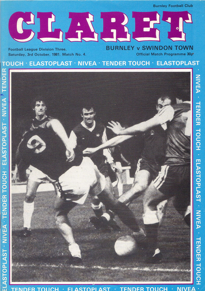 <b>Saturday, October 3, 1981</b><br />vs. Burnley (Away)